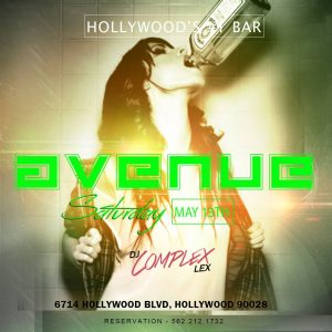 dj female music party hollywood