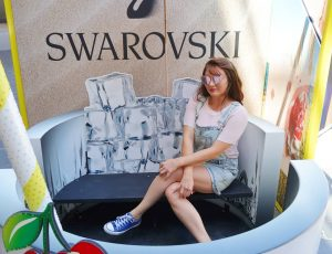 Swarovksi Follow Your Desires Activation at Santa Monica Place, Santa Monica