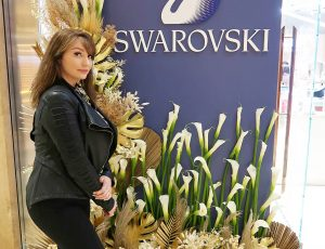 Swarovksi Official Launch Event at South Coast Plaza, Costa Mesa